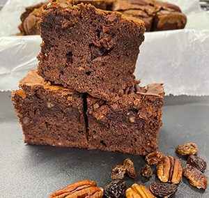 Brownies Alle Noci Pecan E Uvetta